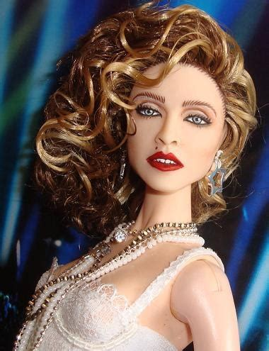 what celebrity is a virgin madonna like a virgin doll repaint and mtv videos on