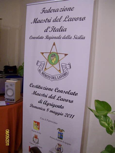 lavoro consolato federazione maestri lavoro d italia consiglio