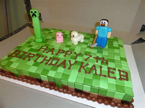 pastel decorado minecraft minecraft cake birthday ideas pinterest