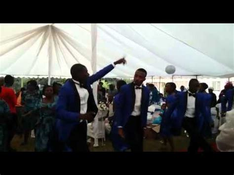 Zim best wedding dance   unconquerable 2015   YouTube