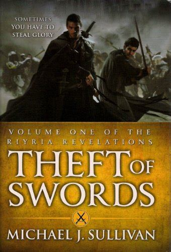 Theft Of Swords the riyria revelations book series by michael j