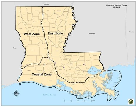 louisiana duck map l w f c approves three zone framework for 2012 2015