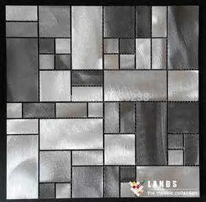 metal wall tiles backsplash aliexpress buy lsald01 metal mosaic tiles 3d wall tiles mosaic painting kitchen backsplash