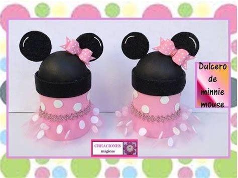 decorar botellas minnie caja de minnie mouse reciclando envase de leche