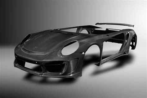Porsche Carbon by Topcar Makes Complete Carbon Fiber Body For Porsche 991 Turbo