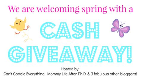 Spring Giveaway - spring giveaway our three peas