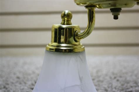 Used Ceiling Lights by Rv Interiors Used 2 Globe Motorhome Ceiling Light Fixture For Sale Interior Lights Gold Brass
