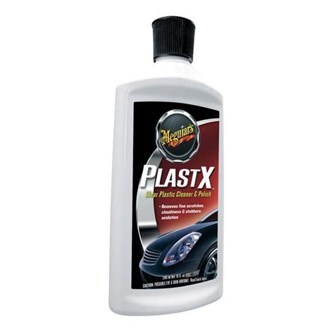 Meguiars Plast X meguiar s plastx clear plastic cleaner 10 oz