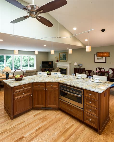 kitchen renovation floor plans open floor plan kitchen renovation in northern virginia