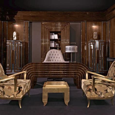 uffici di lusso scrivania in legno curvato per ufficio di lusso idfdesign