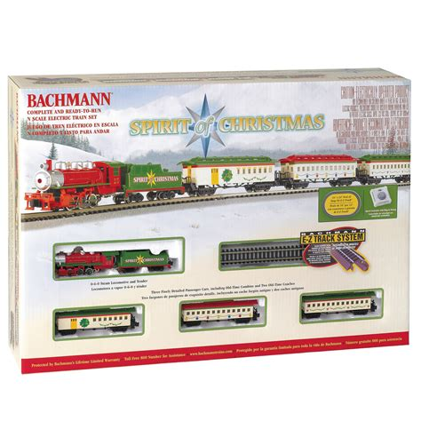 bachmann trains trains spirit of christmas n scale ready