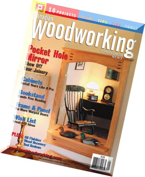 canadian woodworker magazine canadian woodworking issue 27 pdf magazine