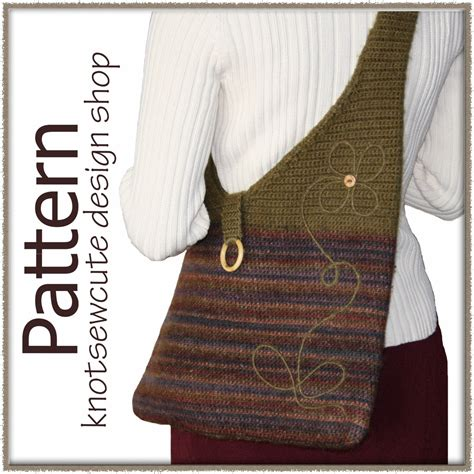knitting patterns for bags and purses crocheted felted purse pattern crochet and knitting patterns