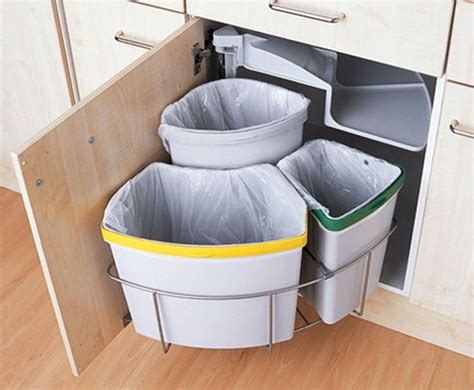 kitchen trash cans for small spaces 25 best ideas about trash can cabinet on