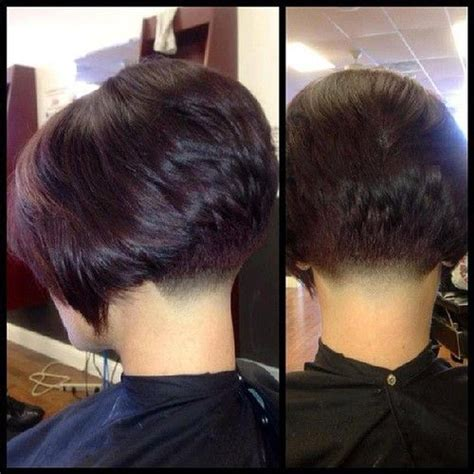 pic of back of shaved aline ahaircuts 1000 images about inverted bob s on pinterest bobs