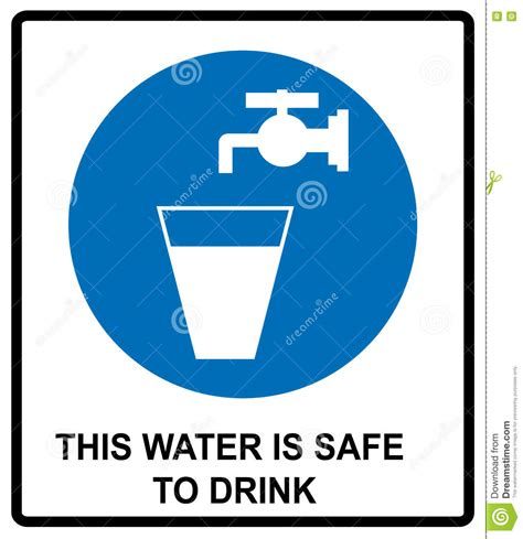 Will Only Water And Tea Be A Safe Detox safe stock photo cartoondealer 17539722