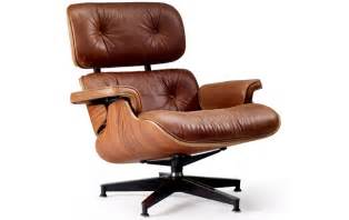 Photograph of eames style lounge chair amp ottoman