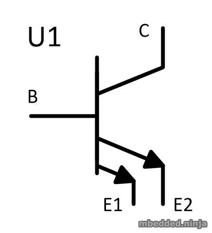 multi emitter transistor in bjt bipolar junction transistors bjts mbedded