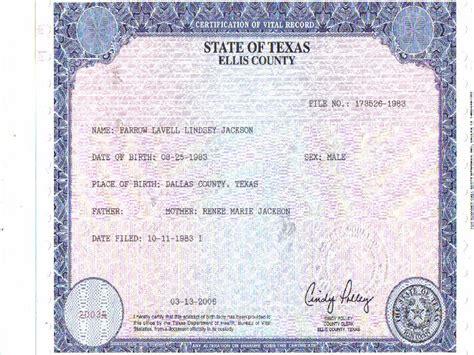 birth certificate truth follow the money