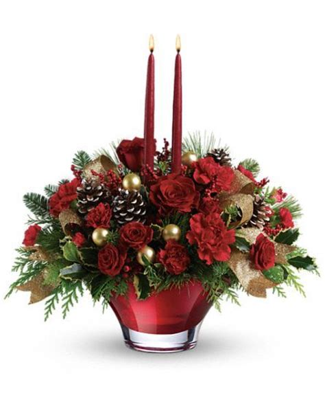 17 best images about christmas flower arrangements on