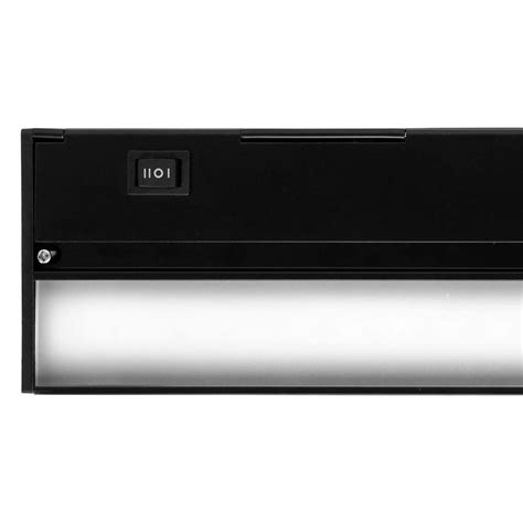 xenon under cabinet lighting dimmable nicor 30 in xenon bronze under cabinet light fixture