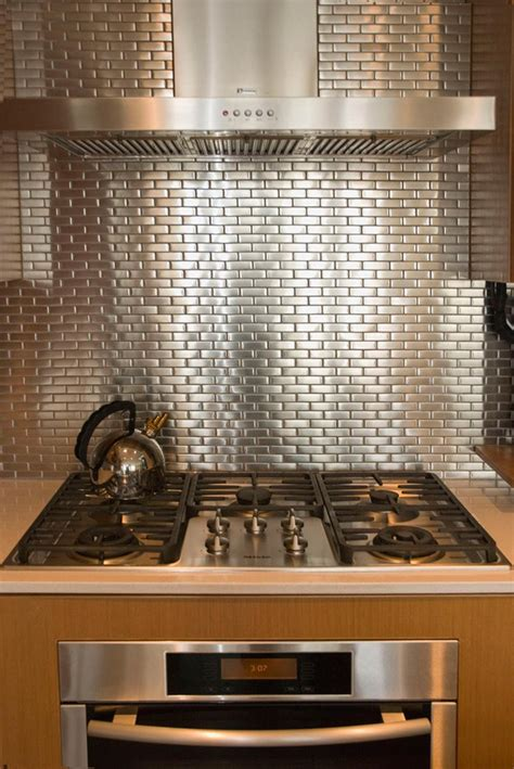 enchanting subway tiles in kitchen with stainless steel stainless steel tile backsplash awesome 40 black and