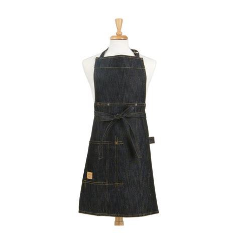 Appron Celemek Denim asd living vintage draper denim butcher bib indigo apron one size 100 woven cotton 36 in