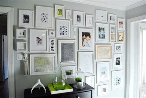 full of great ideas framing black and bleu designs gallery frame wall