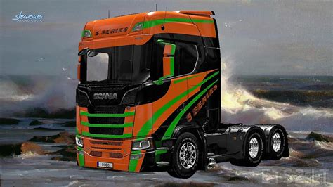 the series scania s serie ets 2 mods part 2