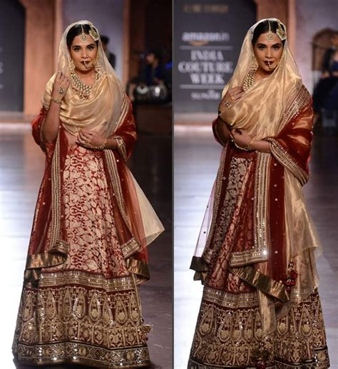 richa chadda gold best bollywood bridal looks you can opt in 2018 let us