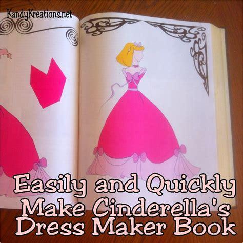 pattern for pink cinderella dress make cinderella s dress maker book diy everyday parties