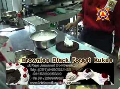 youtube membuat black forest cara mudah membuat brownies black forest kukus youtube