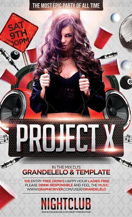 templates photoshop party project x club and party flyer template http