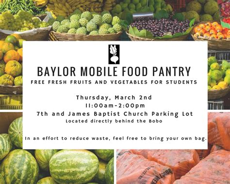 Mobile Food Pantries by Baylor Mobile Food Pantry Diversity Inclusion Baylor