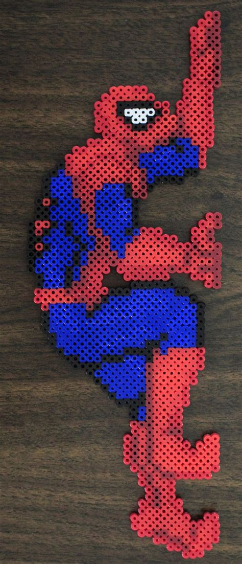 spiderman perler pattern 495 best images about beads on pinterest perler beads