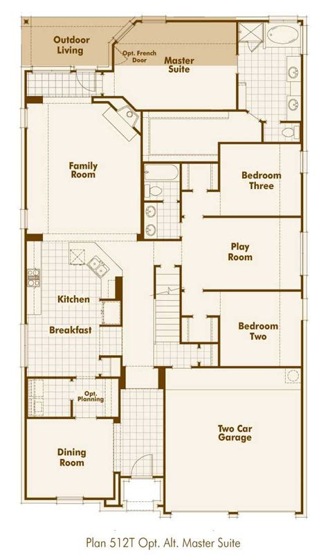 highland homes floor plans new home plan 512t in bulverde tx 78163