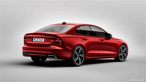 2019 volvo s60 r 2019 volvo s60 r design rear three quarter hd