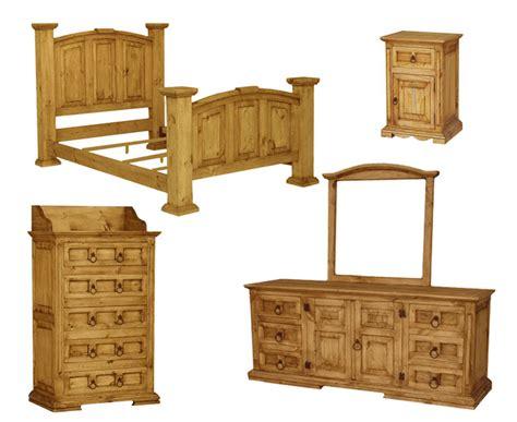 santa fe rustic bedroom set