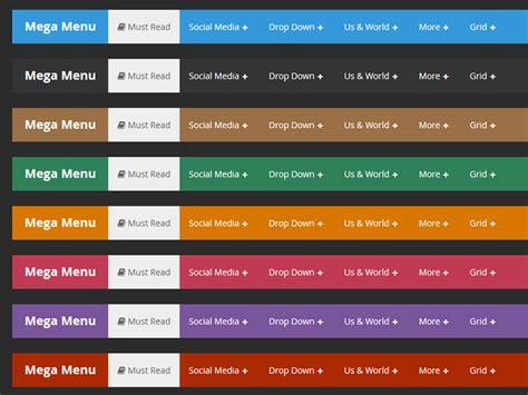 design menu responsive mega menu responsive by codegrape dribbble