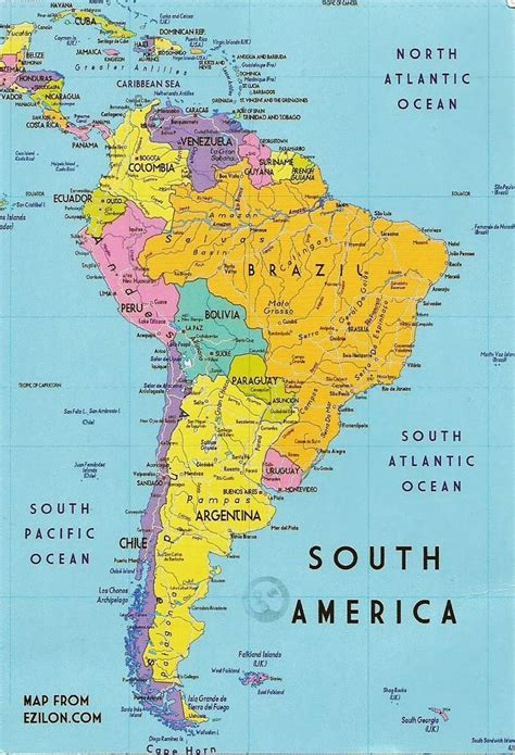 south america map republic postcards on my wall south america map guyana
