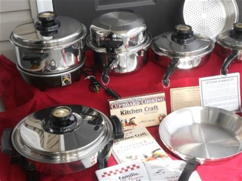 kitchen craft west bend waterless stainless cookware pots