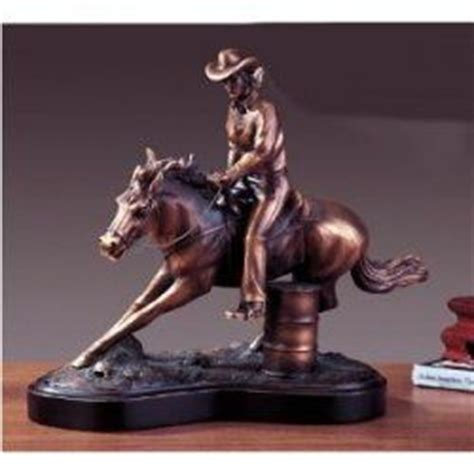 barrel racing home decor figurine westerns and the lifestyle on pinterest