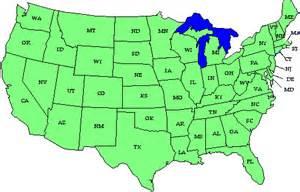 maps usa map initials