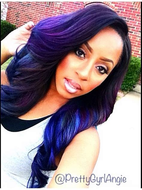 purple hair for black women top 13 cute purple hairstyles for black girls this season