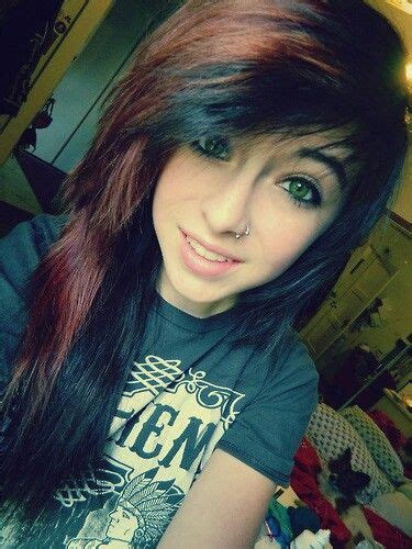 emo hairstyles without fringe maybe i might get fringe and layers like this 3 my style