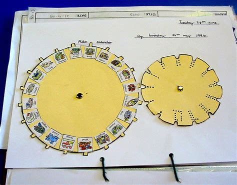 how to make an aztec calendar ideas for project work