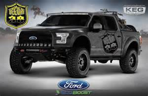 Ford Special Edition Trucks Ford Spikes Adrenaline With Special Edition Sema Trucks