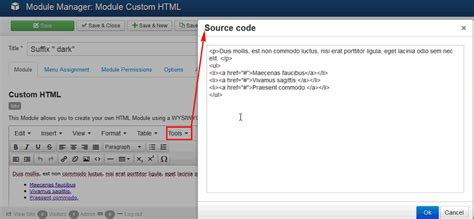 joomla tutorial login module how to use the joomla custom html module for diverse pages