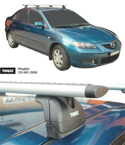 Thule Roof Racks Sydney by Mazda 3 Roof Rack Sydney