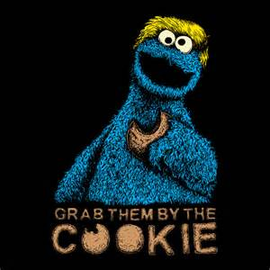 Kitchen Styles And Designs Cookie Monster Donald Trump Signature Series T Shirt By